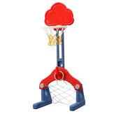 3-σε-1 Παιδικά Πλαίσιο Μπάσκετ Ρυθμιζόμενο Ύψος Πλαίσιο Μπάσκετ Εξωτερικά Εσωτερικά Παιχνίδια Μπάσκετ Παιδικά Παιχνίδια Δώρα