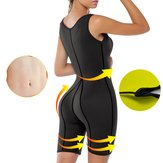Donna neoprene Sauna Completo Body Shaper Ultra sudore Idoneità Body Yoga