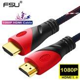 Кабель HDMI FSU 1080 * 1920P 4k Переходный кабель HDMI-HDMI Высокоскоростной 18 Гбит / с Кабель HDMI 30AWG Поддерживает 3D