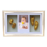 3D Hand Foot Casting Newborn Baby Footprint Photo Frame