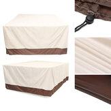 防水ガーデンパティオ家具カバー屋外籐テーブルUVダストレインプルーフプロテクター