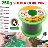 250g Solder Wire 63/37 Tin Lead Line Soldering 0.3/0.4/0.5/0.6/0.8/1.0/1.2/1.5/2.0mm