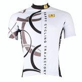 Abbigliamento da motociclista da uomo, manica corta, top, ciclismo, ciclismo, maglia, jersey Camicia
