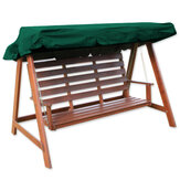 2/3 Seater Garden Swing Chair Anti-UV Waterproof Penggantian Canopy Spare Cover
