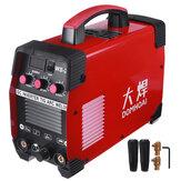 WS-250 220V 7000W portátil sem gás TIG Welder Auto Flux Fio Kit de máquina de solda elétrica de alimentação