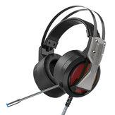 BlitzWolf® BW-GH1 Cuffie da gioco 7.1 Surround Sound Bass Cuffie da gioco RGB con microfono per computer PC PS3/4 Gamer