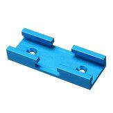 80mm Aluminum Alloy Miter T-Track Connector Nut Slider DIY Woodworking Tool Blue