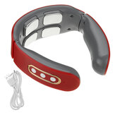 Intelligent Electric Pulse Neck Massager USB Rechargeable Heating Shoulder Neck Massager