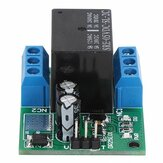 DR25E01 DC 6-24V 3-5A Flip-Flop Latch DPDT Relay Module Bistable Self-locking Switch Low Pulse Trigger Board for Motor LED PLC