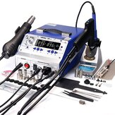 YIHUA 948-II 4 σε 1 Hot Air Rework Soldering Iron and Desoldering Suction Tin Gun Station with Suction Pick Up Pen