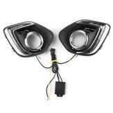 12V6000KCarLuzesdiurnasTurn Signal Lamp para Mitsubishi ASX Outlander Sport 2013-2015