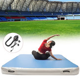 78.74x78.74x7.87inch Inflatable Air Mat Tumbling Track Gymnastics Fitness Training With Air Pump