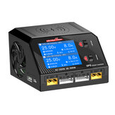 Caricabatterie Ultra Power UP6 AC 160W DC 400W 10A Batteria con ricarica wireless per Lipo / Nicd / NiMH Batteria