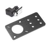 Machfit Aluminium Nema 17 Schrittmotormontageplatte für CNC-Maschine V-Nut Aluminiumprofile Profil CNC-Teile
