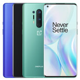 OnePlus 8 Pro 5G Global Rom 6.78 inci QHD + 120Hz Refresh Rate IP68 NFC Android 10 4510mAh 48MP Kamera Belakang Quad 12GB 256GB Snapdragon865 Smartphone