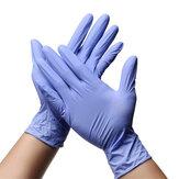 100 Uds protector de nitrilo desechable Guantes S / M / L / XL guante de bacterias aisladas sin látex sin polvo Personal Salud