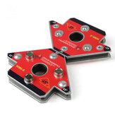 2 Pcs Pack Panah Magnetic Welding Clamp NdFeB Magnet Welding Holder untuk Pengelasan Tiga Dimensi Ukuran Kecil