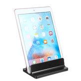 Space-saving Desktop Aluminum Alloy Vertical Laptop Holder Tablet Stand Holder For Laptop Notebook Tablet Smart Phone Macbook Samsung