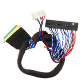 40P 2CH 6-bit LVDS Screen Universal LCD Driver Board Cable For LED Notebook Screen High Score