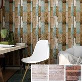 Ξύλινο αυτοκόλλητο ταπετσαρία από πλακάκι δαπέδου PVC Αυτοκόλλητο ταπετσαρίας κουζίνας για σαλόνι κρεβατοκάμαρα σπιτιού DIY διακόσμηση τοί