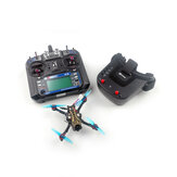 Eachine Novice-II V2.0 1-2S 2.5 pouces cure-dents FPV Racing Drone RTF & Fly more w / Flysky FS-I6 2.4G / WT8 émetteur 5.8Ghz 40CH VR009 lunettes