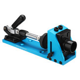 Drillpro Woodworking Pocket Hole jig System 9.5mm Hole Guide with Toggle Clamp Dust Removal Port