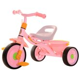 Kids Tricycle Adjustable Baby Stroller Safety Ride Walkers Children Gift for 2-4 Years Old