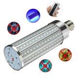 Disinfezione 72W UV lampada E27 UVC LED Lampadina detergente per batteri remoto Controllo illuminazione a ultravioletti AC85-265V