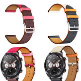 Bakeey 22mm Dual Color Genuine Leather Strap Replacement Watch Band for Huawei Honor magic