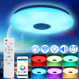 Dimmable 36W 220V LED Smart Ceiling Light Ceiling Lamp Bluetooth Speaker APP Remote