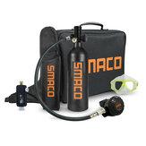 S400 + E 3000PSI 1L Butla z tlenem Nurkowanie Adapter do nurkowania Zestaw okularów do SMACO