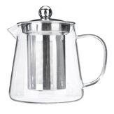 Cam Demlik Demlik Kahve Çaydanlık ile Isıya Dayanıklı Şeffaf Sürahi 450/550 / 750ML