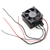150W 12V DC PTC Fan Heater Constant Temperature With Connection Cable