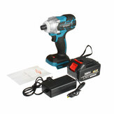 388VF 520N.M Brushless Cordless Electric Impact Wrench Rechargeable 1/2'' Wrench Power Tools W/ 1/2pcs Battery Also For Makita 18V Battery