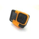 URUAV 25 grados inclinado Cámara soporte de montaje para GoPro Hero 9 Action CAM RC Drone rojo / negro / naranja