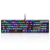 MOTOSPEED Inflictor CK104 NKRO RGB Backlit Mekanisk Gaming Keyboard Outemu Blue Switch