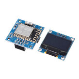 ESP8266 0.96 Inch OLED Display WiFi Clock Module SSD1306 ESP-12F USB 5V Power Supply
