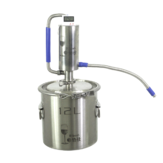 12/20/35L 304 Food Grade Stainless Steel Distiller for Brewing Liquor Brandy Alcohol Moonshine Making Equipment