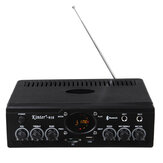 30W Power Stereo Amplifier bluetooth FM Radio USB Karaoke Home KTV HiFi Power Amplifier