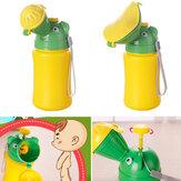 500MLTragbareBabyKindUrinal Mini Auto Reise Wc Junge Mädchen Kid Töpfchen Training Wasserlassen