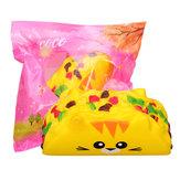 Gato Vegish Roll Squishy 11.8CM Jumbo Slow Lising Soft Colección de regalos de juguete con embalaje