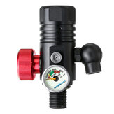 DEDEPU 4500Psi 360° Aluminum Alloy First Breathing Scuba Diving Tank Breathing Valve Thread Paintball Valve Regulator