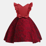 Kids Girls Formal Party Princess Dress