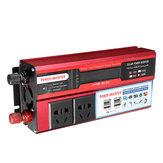 500V DC 12V / 24V AC 110V / 220V変更正弦波パワーインバーター4 USB