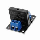 5pcs 1 Channel DC 12V Relay Module Solid State Low Level Trigger 240V2A Geekcreit for Arduino - products that work with official Arduino boards