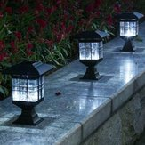 LED solare Power Outdoor Garden Yard Light Lawn Path Landscape lampada Decor
