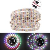 DC5V 1M 5M WS2812B RGBW RGBWW 4 IN 1 Non-Waterproof 5 Pins LED Strip Light for Home Decor