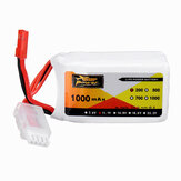 ZOP Power 11.1V 1000mAh 20C 3S Lipo Bateria Plugue JST