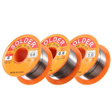50g 0.5 / 0.6 / 0.8 / 1.0mm 63/37 FLUX 2.0% 45FT Tin Lead Tin Wire Melt Rosin Core Soldeer Soldeerdraad Roll