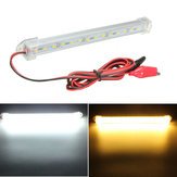 12V 20cm 15LED SMD 5630 LED Strip Light Hard Tube Bar Cool White Warm Yellow